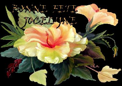Carte Bonne Fete Jocelyne.Bonne Fete Jocelyne
