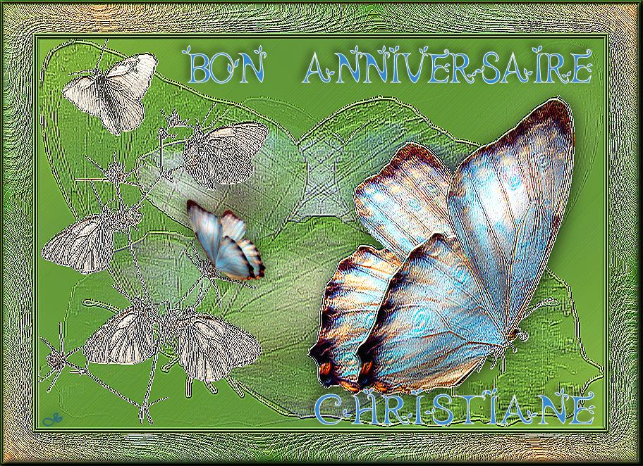 Bon Anniversaire Christiane