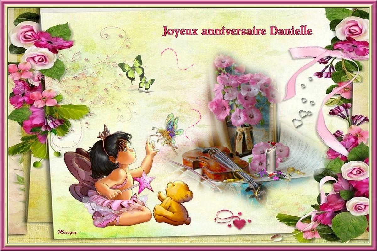 Bon Anniversaire Danielle De La Part De Monique